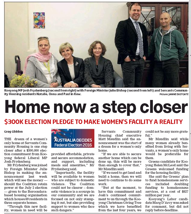 Article_Progress Leader_Home now a step closer_20160607